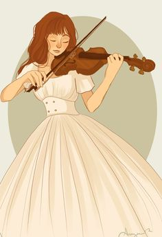Girl playing the violin clipart png stock Girl playing violin clipart - Clip Art Library png stock