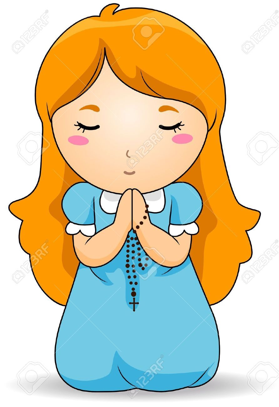 Girl praying clipart picture library library Girl praying clipart 5 » Clipart Portal picture library library