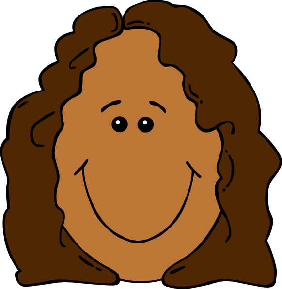 Girl pumpkin face clipart clip art library Cartoon Girl Faces Group (62+) clip art library