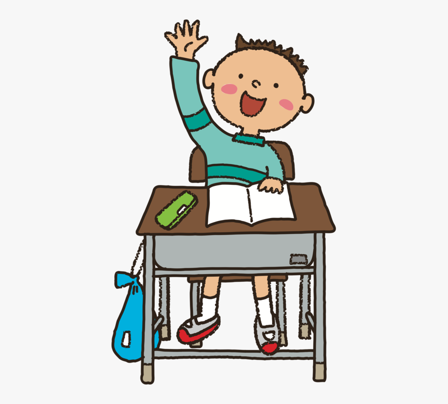 Girl raising hand in school silhouette clipart image transparent library Learn Clipart Girl - Clipart Student Raising Hand #920758 - Free ... image transparent library