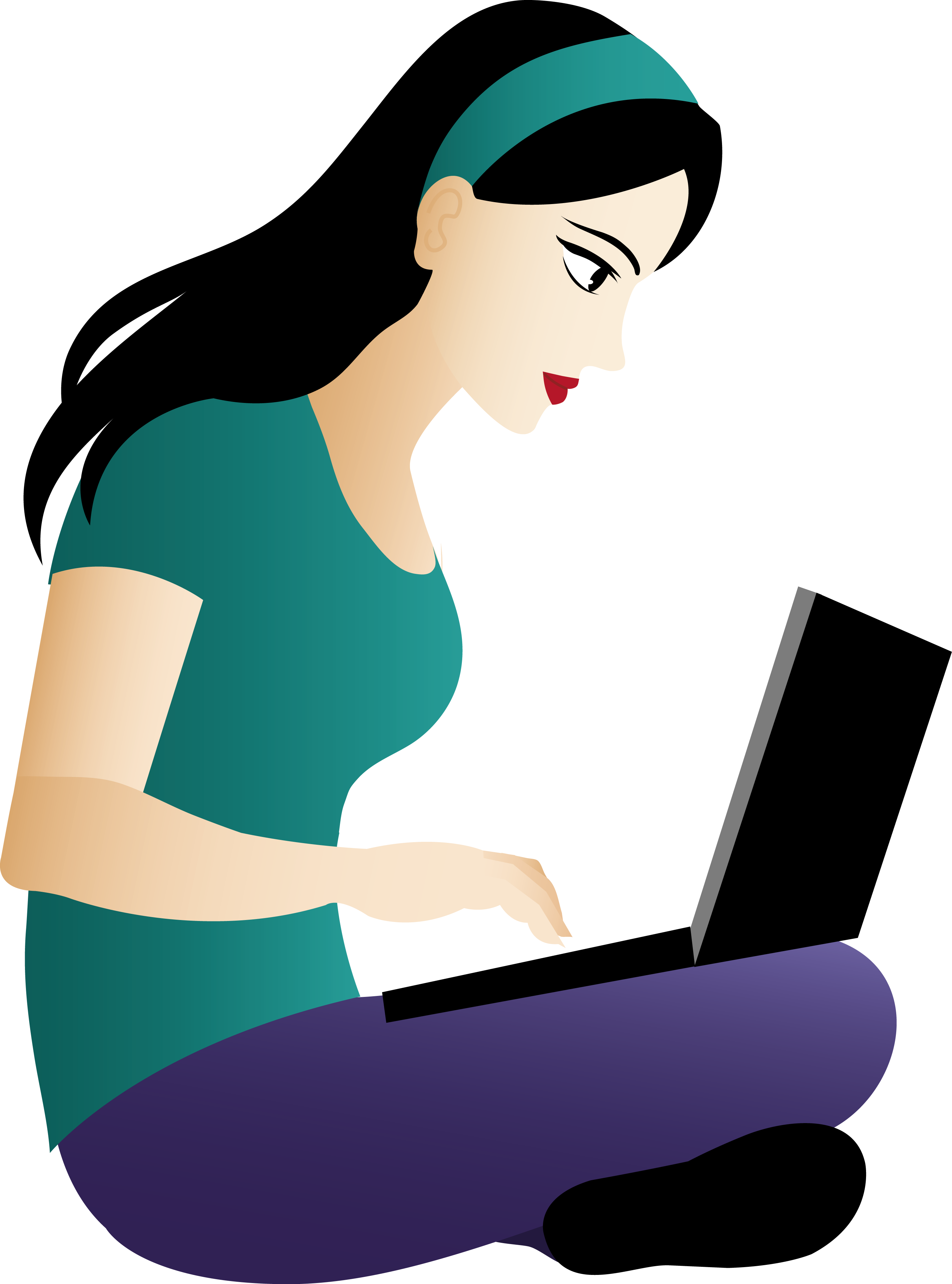 Girl reading book clipart png transparent download Asian girl clipart - Clipground png transparent download