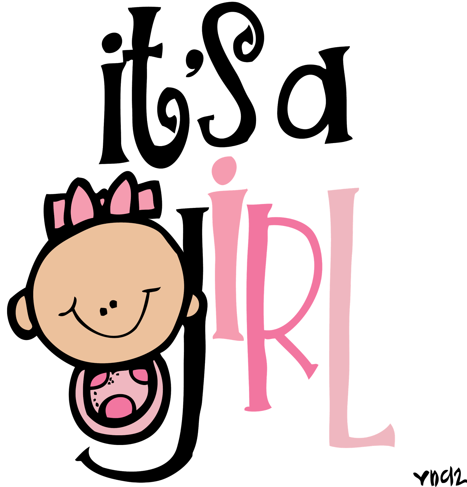 Girl rock star clipart picture transparent download MelonHeadz: It's a girl! picture transparent download