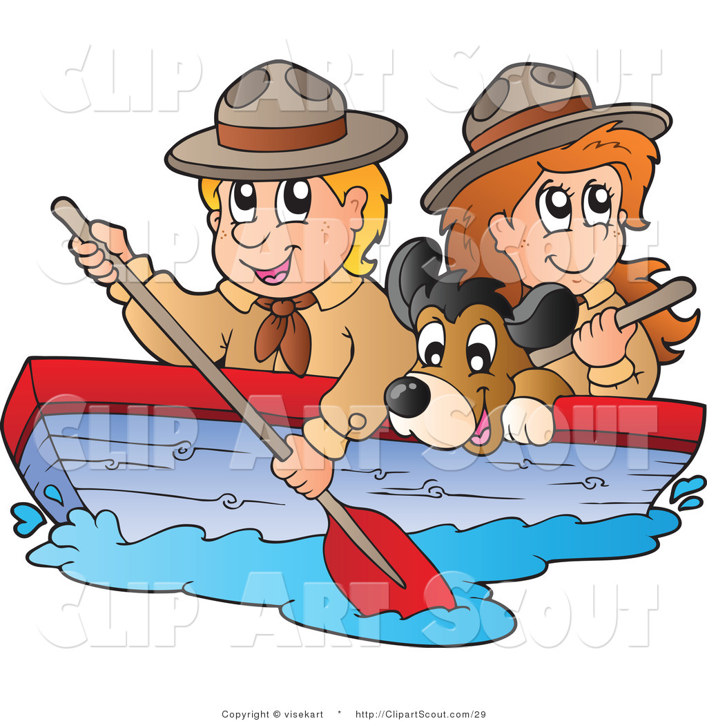 Girl row boat clipart png library stock Girl driving boat clipart - ClipartFest png library stock