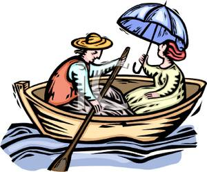 Girl row boat clipart image transparent download Man in boat clipart - ClipartFest image transparent download