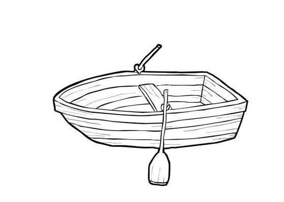 Girl row boat clipart picture free stock Row boat clipart black and white - ClipartFest picture free stock
