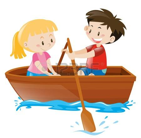 Girl row boat clipart picture black and white download Girl row boat clipart - ClipartFest picture black and white download