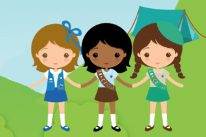 Girl scout campfire clipart vector library library Girl scout camping clipart » Clipart Portal vector library library