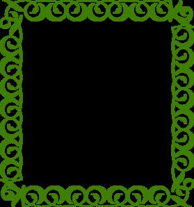 Girl scout clipart borders graphic transparent Green Border Clip Art at Clker.com - vector clip art online, royalty ... graphic transparent