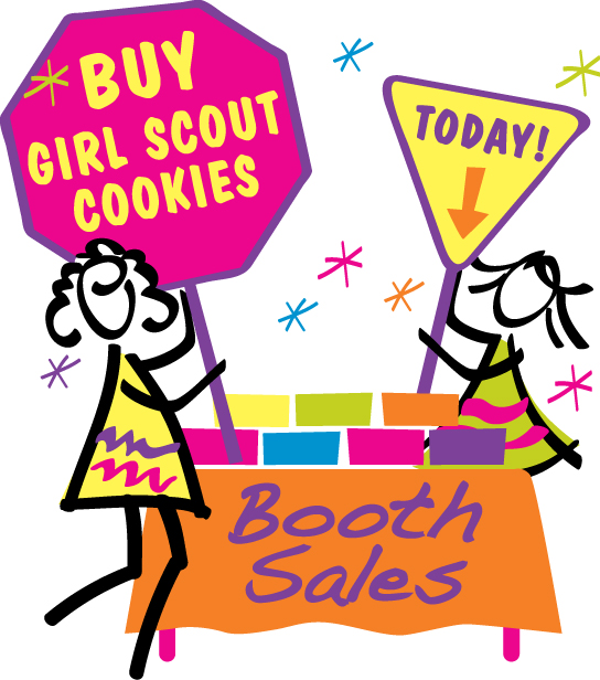 Girl scout cookie sale clipart royalty free Girl Scout Cookie Clipart | Free download best Girl Scout Cookie ... royalty free