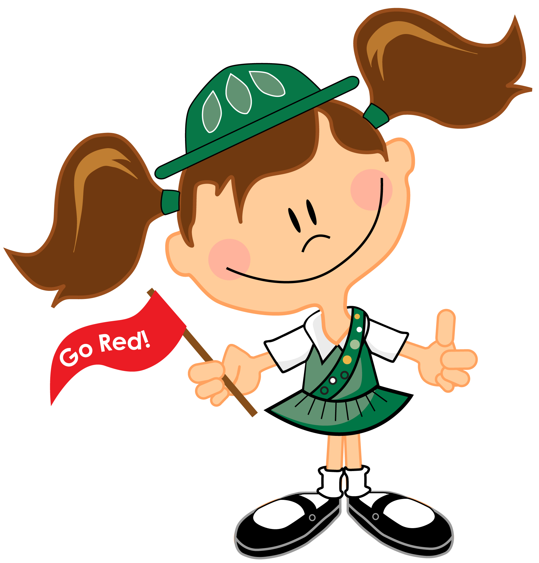 Girl scout helping clipart clipart royalty free Girl Scout Clipart & Look At Clip Art Images - ClipartLook clipart royalty free