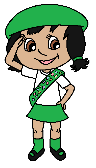 Girl scout helping clipart vector royalty free Girl scout clipart images on scout 5 - ClipartBarn vector royalty free