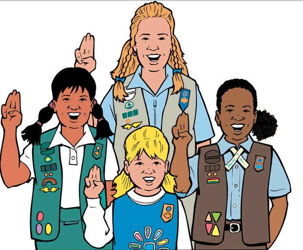 Girl scout troop clipart svg download Girl Scout Troop | Chase United Methodist Church svg download