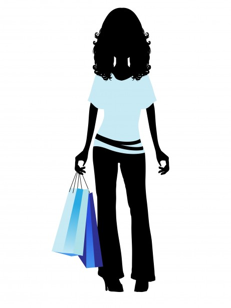 Girl shopping clipart free jpg royalty free library Fashion Shopping Girl Clipart Free Stock Photo - Public Domain Pictures jpg royalty free library