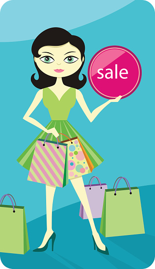Girl showing id clipart clip library Clip Art, Vector Images & Illustrations - iStock clip library