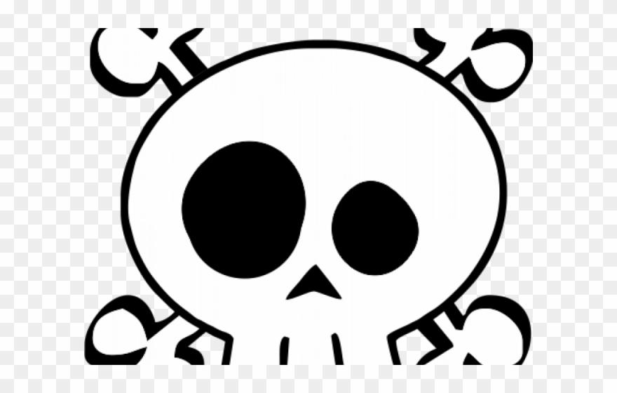 Girl skull and crossbones clipart freeuse library Skull Clipart Transparent Background - Girl Skull And Bones - Png ... freeuse library
