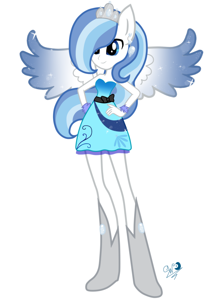 Girl snowflake sock clipart vector transparent Commission Equestria Girls: Snowblossom by Kaiilu on DeviantArt vector transparent