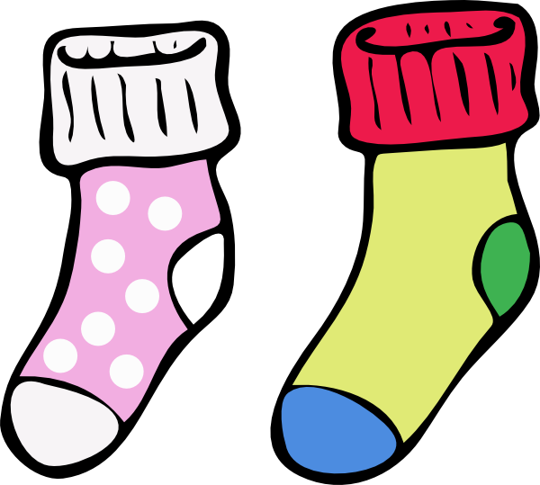 Girl snowflake sock clipart banner freeuse library 28+ Collection of Socks Clipart Png | High quality, free cliparts ... banner freeuse library