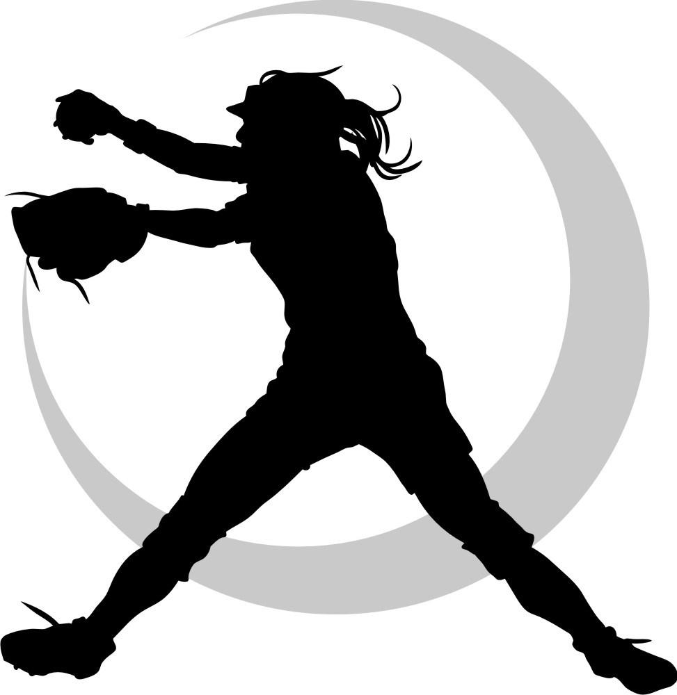 Girl softball clipart clip royalty free library Fastpitch softball clipart 3 » Clipart Portal clip royalty free library