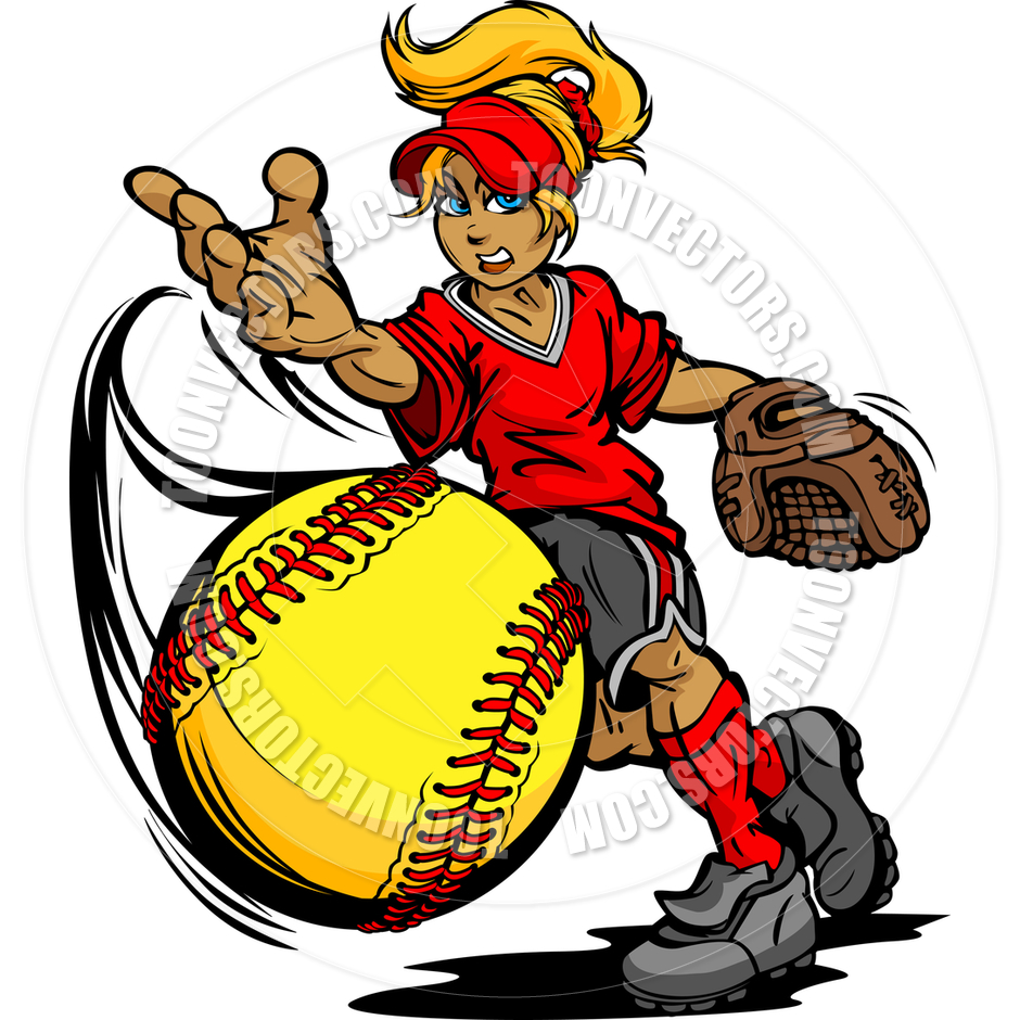 Girl softball clipart jpg royalty free download Softball Player Clipart | Free download best Softball Player Clipart ... jpg royalty free download