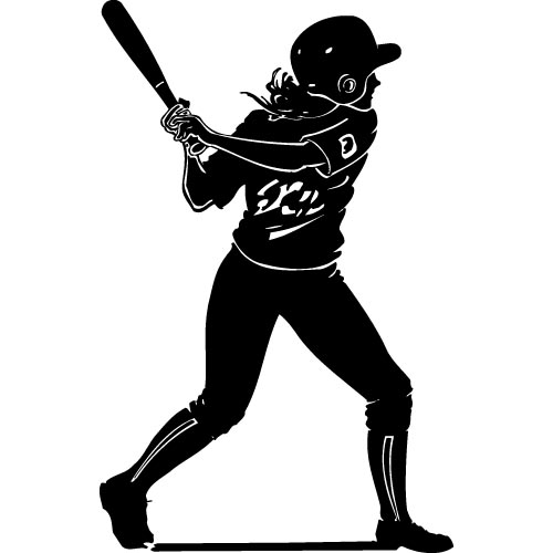 Girl softball clipart png black and white download Free Girls Softball Clipart, Download Free Clip Art, Free Clip Art ... png black and white download