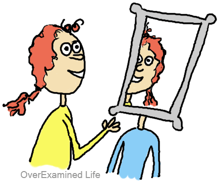 Looking at yourself in the mirror clipart vector freeuse Why You Hate Looking in the Mirror, and How to Accept Your Reflection vector freeuse