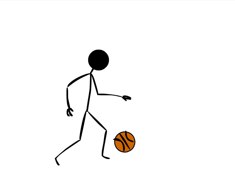 Girl stick figure basketball clipart png freeuse library Free Happy Stick Figure, Download Free Clip Art, Free Clip Art on ... png freeuse library