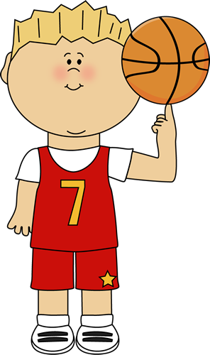 Girl stick figure basketball clipart png free download Basketball Player Balancing Ball on Finger Clip Art - Basketball ... png free download