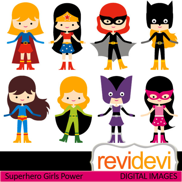Girl superheroes clipart png library download Free Girl Superhero Cliparts, Download Free Clip Art, Free Clip Art ... png library download