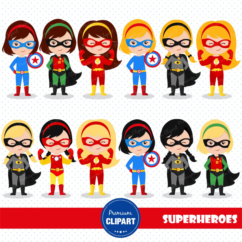 Girl superheroes clipart clip art freeuse Superhero Background Cliparts   Free download best Superhero ... clip art freeuse
