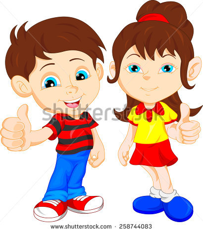 Girl thumbs up clipart image free download Kids Thumbs Up Stock Vectors, Images & Vector Art | Shutterstock image free download