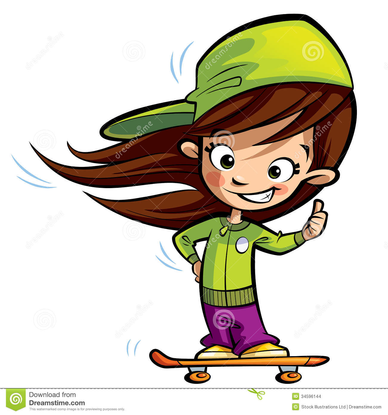 Girl thumbs up clipart picture free download Girl Thumbs Up Clipart - Clipart Kid picture free download