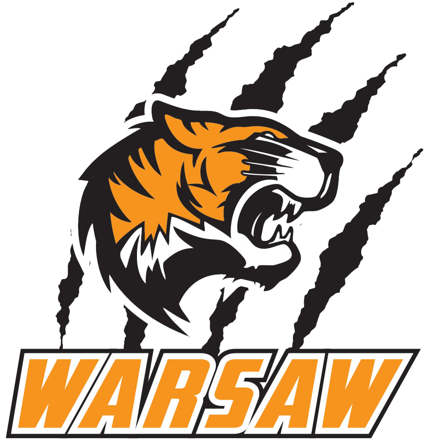 Girl tiger basketball clipart clip library library Warsaw - Team Home Warsaw Tigers Sports clip library library