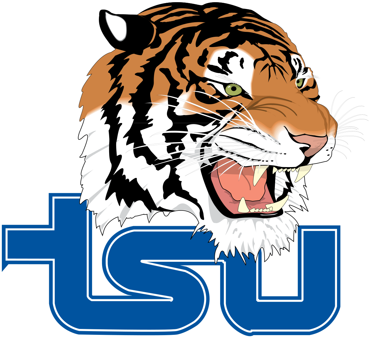 Girl tiger basketball clipart image library Tennessee State Tigers and Lady Tigers - Wikipedia image library