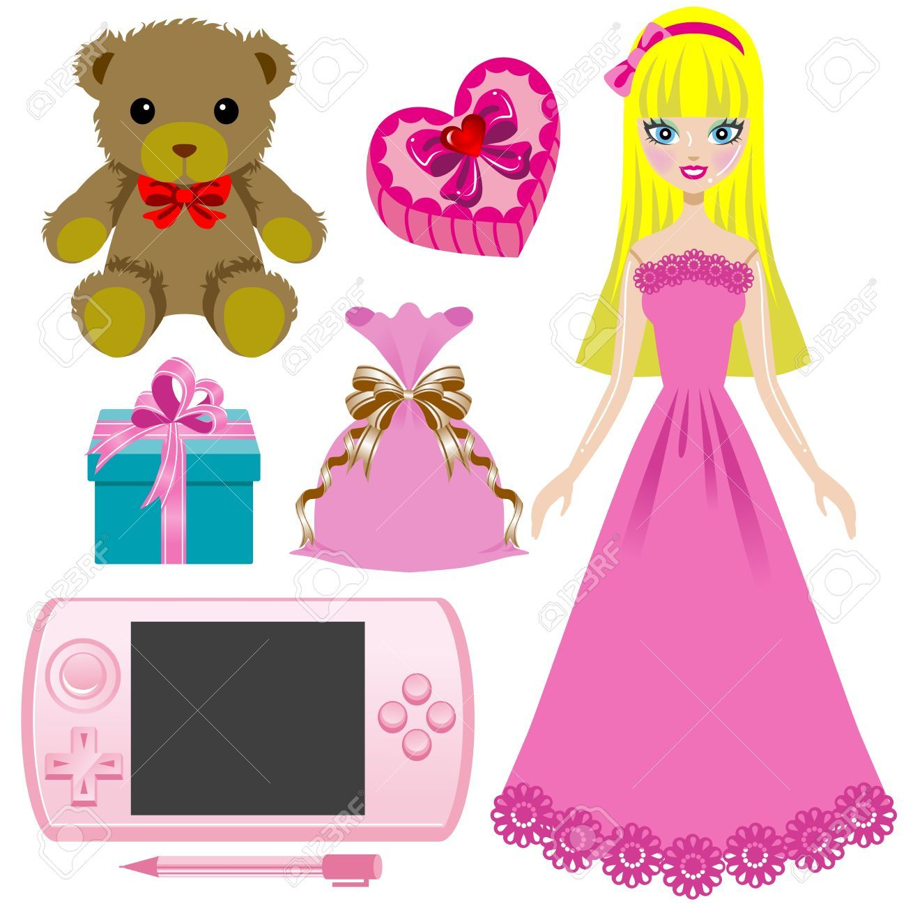 Girl toys clipart picture royalty free download Girl toys clipart 3 » Clipart Portal picture royalty free download