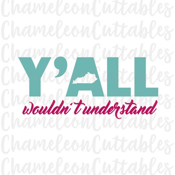 Girl triathlon svg clipart svg free Kentucky, Y'all wouldn't understand, svg, cut, file, vector, decal ... svg free