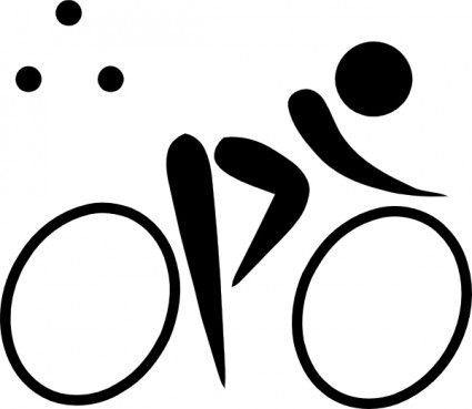 Girl triathlon svg clipart svg freeuse Girls Head Brunette clip art Free Vector / 4Vector svg freeuse