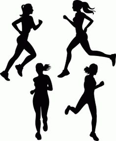 Girl triathlon svg clipart graphic black and white library Male Swimmer Silhouettes Set 3 - 10 png clipart graphics {Instant ... graphic black and white library
