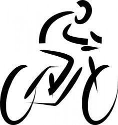 Girl triathlon svg clipart banner royalty free download Triathlon symbols with word - stock vector   Displays   Pinterest ... banner royalty free download