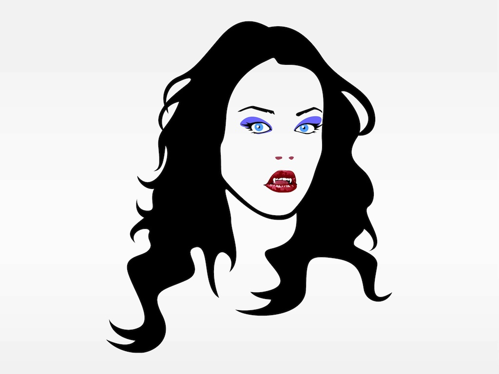 Girl vampire clipart graphic freeuse library Free Vampire Girl Cliparts, Download Free Clip Art, Free Clip Art on ... graphic freeuse library