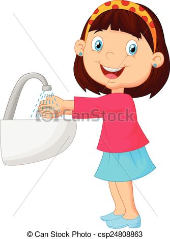 Girl washing hands clipart png freeuse library Girl washing hands clipart - ClipartFest png freeuse library