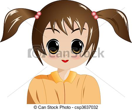 Girl with big eyes clipart banner royalty free Girl with big eyes clipart - ClipartFest banner royalty free