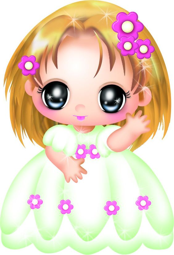 Girl with big eyes clipart svg transparent library Láminas Infantiles y para Adolescentes | Decoupage, Girls and Eyes svg transparent library