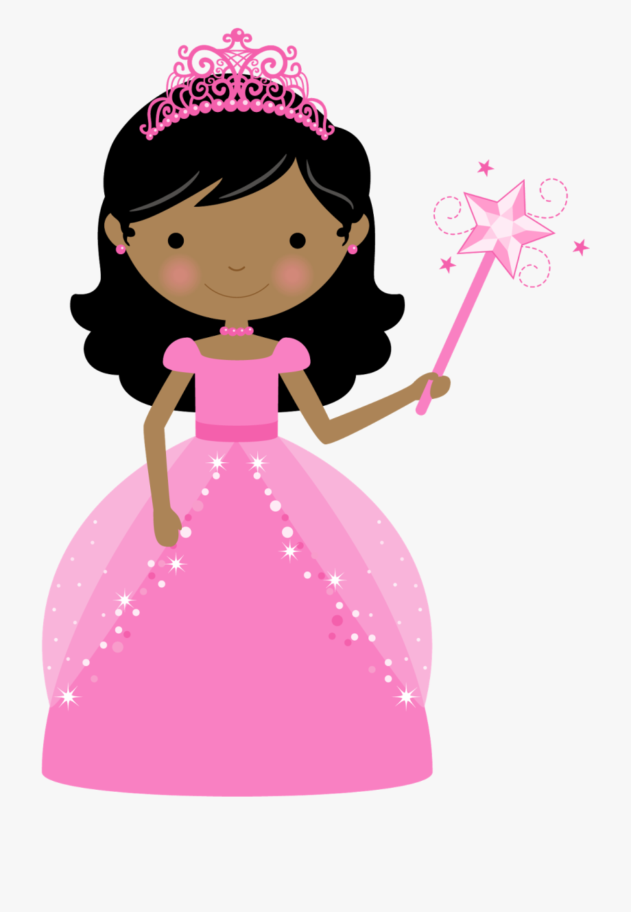 Girl with crown clipart svg royalty free stock Princess And Cupcake Clipart - Clipart Girl With Crown #2413941 ... svg royalty free stock