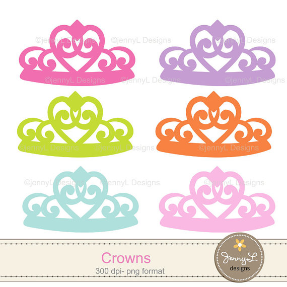 Girl with crown clipart picture black and white library Princess Crown, Tiara Clipart Girl party for Birthday, Baptism ... picture black and white library