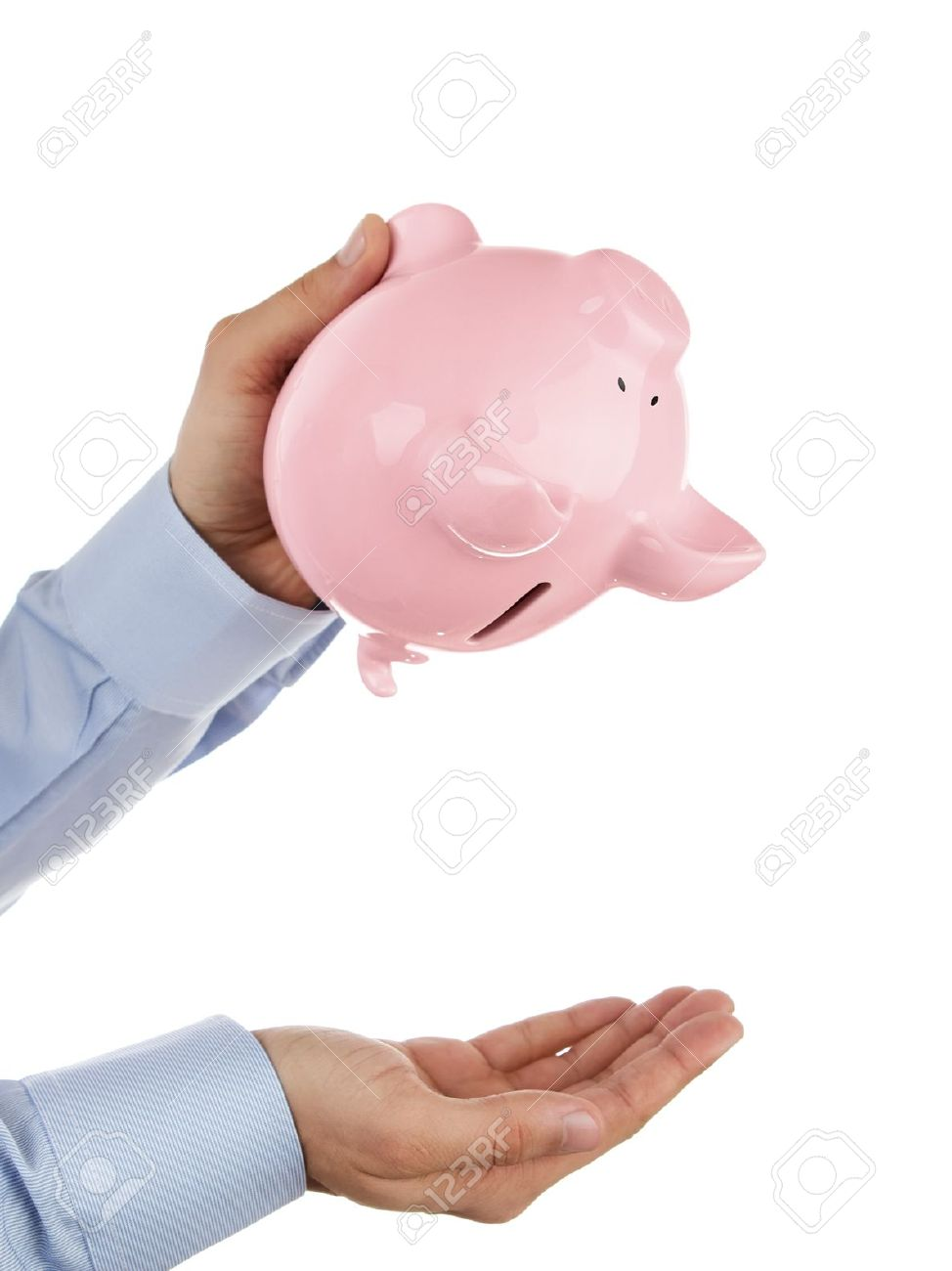 Girl with empty piggy bank clipart graphic freeuse download Piggy Bank Pig Stock Photos & Pictures. Royalty Free Piggy Bank ... graphic freeuse download
