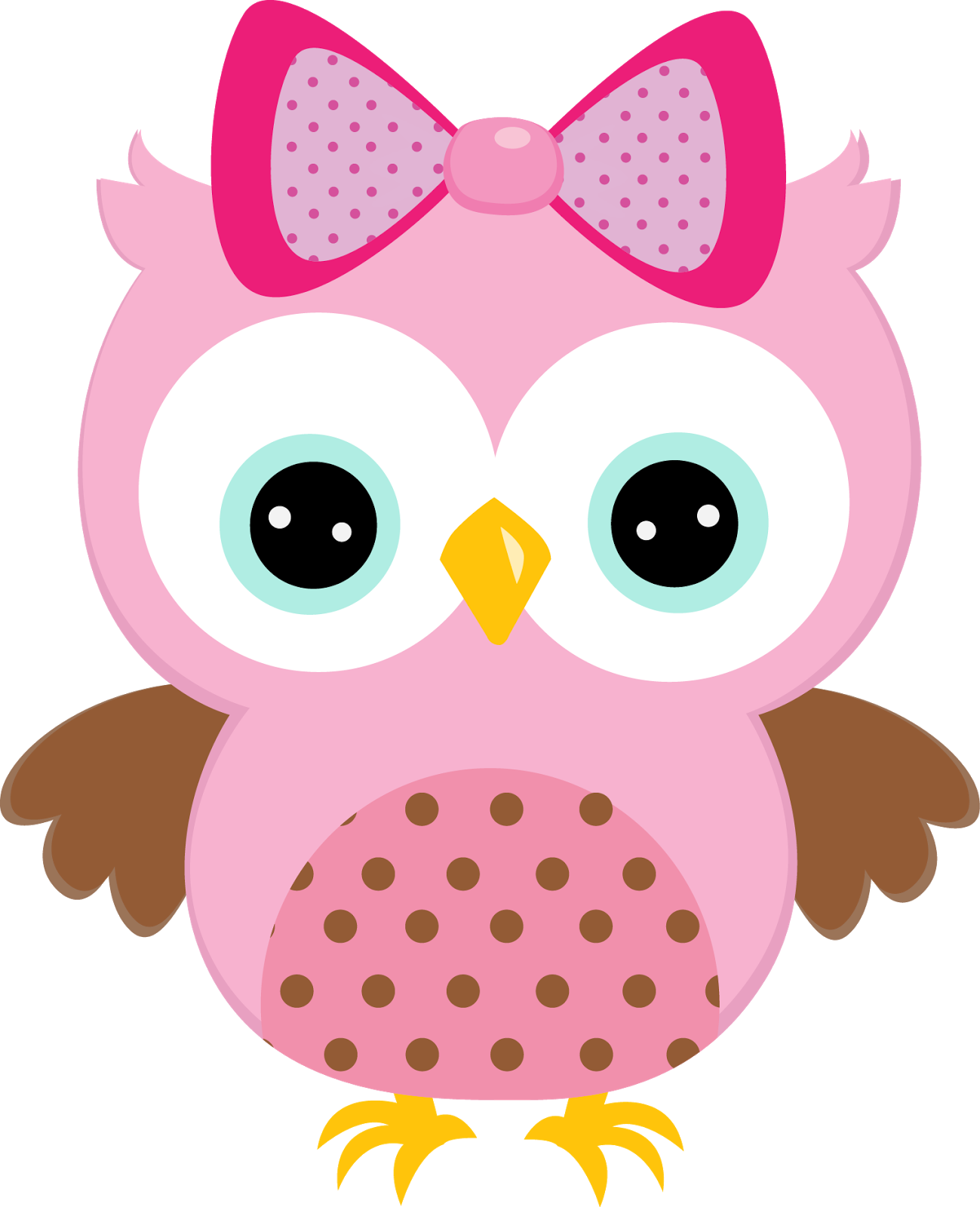 Girl with heart clipart svg library download free baby girl owl clip art - Clipground svg library download