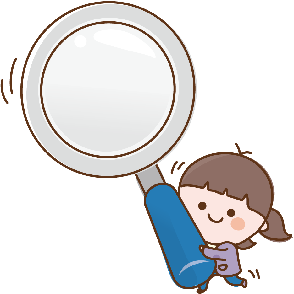 Girl with magnifying glass clipart graphic Clipart Computer Magnifying Glass - Anime Magnifying Glass Png ... graphic