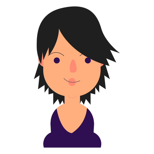 Girl with short black hair clipart image free library Short hair girl clipart images gallery for free download | MyReal ... image free library