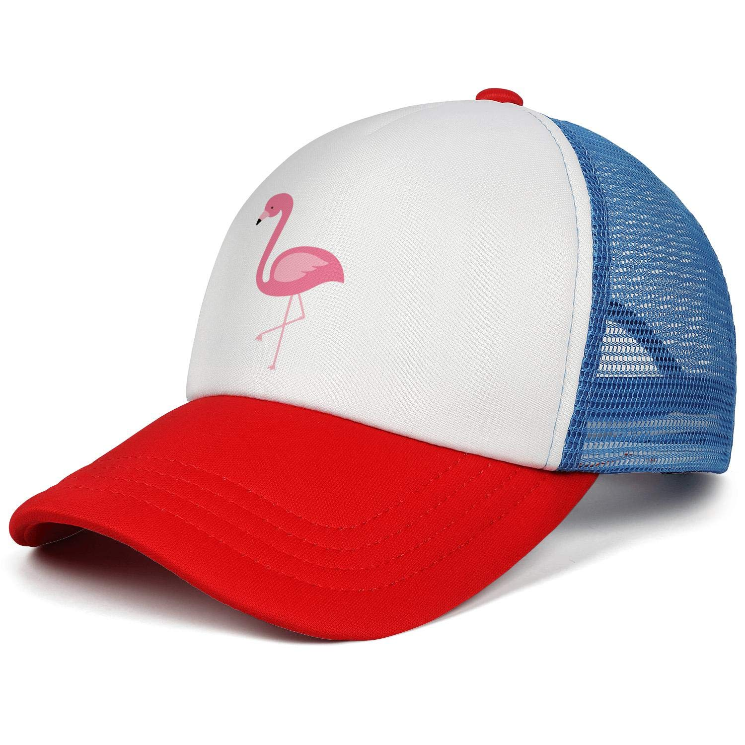 Girl with snapback hat clipart image free library Amazon.com: WUKNG Pink Flamingo Clipart Boys and Girls Baby Mesh ... image free library