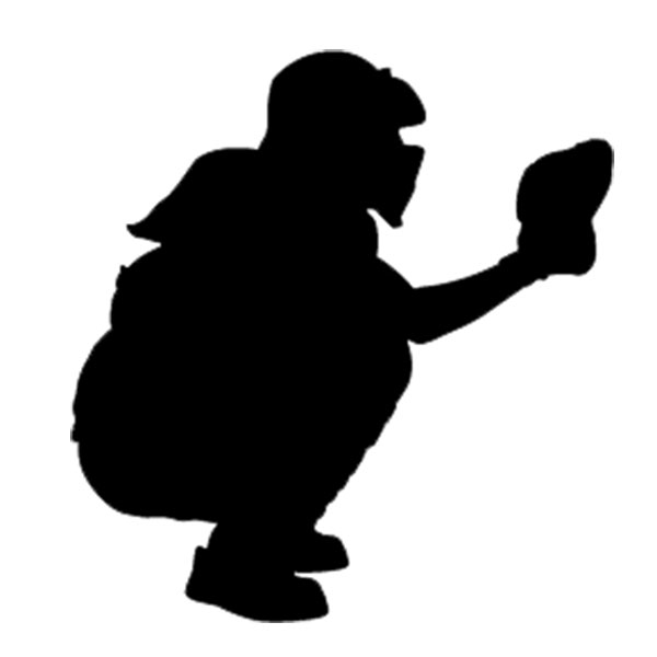 Girlcatcher clipart graphic free stock Free Softball Catcher Cliparts, Download Free Clip Art, Free Clip ... graphic free stock
